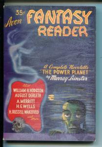 AVON FANYASY READER #1 1947-1ST ISSUE-H G WELLS-LEINSTER-ASHTON SMITH-fn