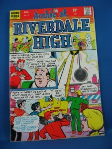 ARCHIE AT RIVERDALE HIGH 1 VF+ 1972