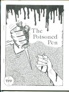 Poisoned Pen Vol.6 #3 1985-Michael Avallone-detective fiction fanzine-FN