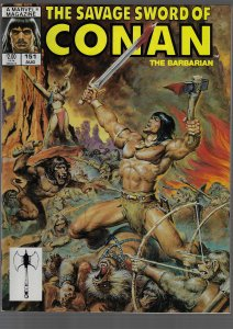Savage Sword of Conan #151 (Marvel, 1988)