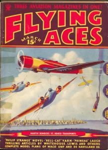 Flying Ace3/1935-Philp Strange-hero pulp-Donald E Keyhoe-Mayshark-G