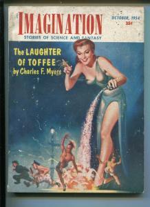 Imagination 10/1954-Greenleaf-sci-fi pulp-Toffee-Charles F.Myers-HW McCauley-G