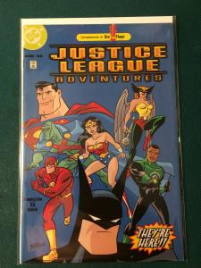 Justice League Adventures SIX FLAGS exclusive!