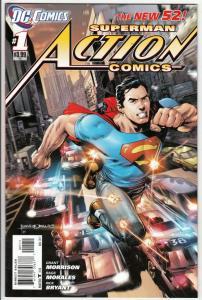 Action Comics #1 (Nov-11) NM High-Grade Superman