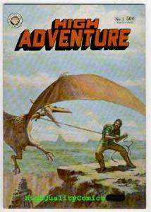 HIGH ADVENTURE #1, VF/NM, Underground, Crumb, John Pound, more UG in store