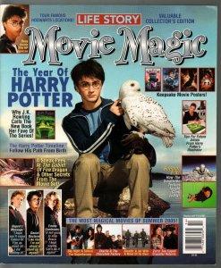 Movie Magic 10/2005-Harry Potter-Daniel Radcliffe-Emma Watson-Rupert Grint FN