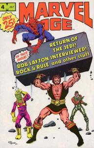 Marvel Age #4 FN; Marvel | save on shipping - details inside