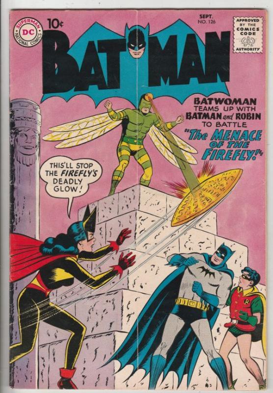 Batman #126 (Sep-59) FN Mid-Grade Batman