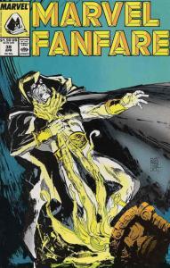 Marvel Fanfare #38 VF/NM; Marvel   save on shipping - details inside