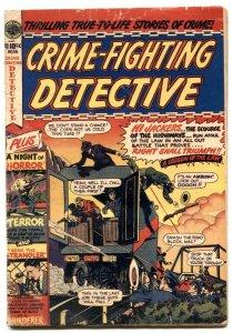 Crime-Fighting Detective #14-1951-SAWED OFF SHOTGUN - G/VG