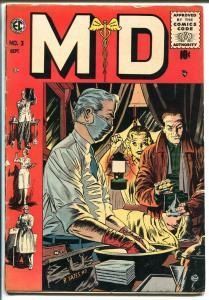 MD #3 1955-EC-George Evans-Graham Ingles-Joe Orlando-Reed Crandall-VG