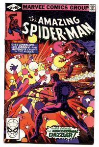 AMAZING SPIDER-MAN #203 comic book-1980-DAZZLER-MARVEL-NM-