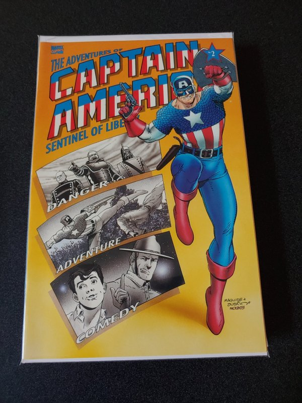 THE ADVENTURES OF CAPTAIN AMERICA SENTINEL OF LIBERTY BOOK TWO TB