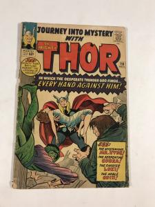 Journey Into Mystery 110 4.0 Gd Good Marvel Silver Age
