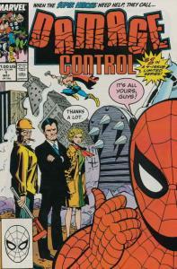 Damage Control (Vol. 1) #1 VF/NM; Marvel   save on shipping - details inside