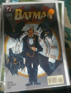 Batman #526 1995, DC COMICS  bruce wayne robin tim drake  nightwing ric grayson