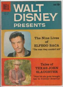 Four Color #997 (Jul-59) VG/FN+ Mid-Grade Texas John Slaughter, Elfego Baca