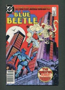 Blue Beetle #5  / 8.5 VFN+  /  Newsstand /  October 1986