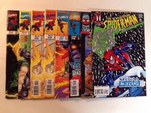 Sensational Spider-man 1 15 18 19 20 31 32 Near Mint Lot Set Run