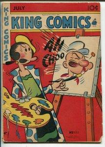 King #135 1947-David McKay-Phantom-Popeye-Blondie-Mandrake-Olive Oyl-G/VG
