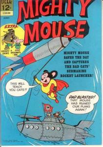 MIGHTY MOUSE (1964-1968 GK/DELL) 166 FVF   March 1966 COMICS BOOK