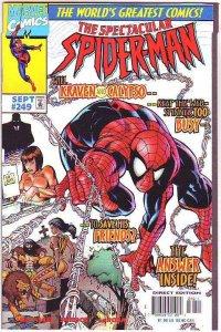 Spider-Man, Peter Parker Spectacular #249 (Sep-97) NM+ Super-High-Grade Spide...