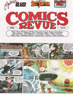 Comics Revue #206 FN; Comics Interview | save on shipping - details inside