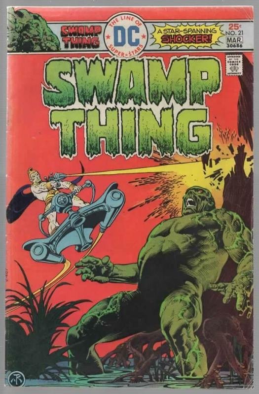 SWAMP THING 21 VG+ Mar. 1976