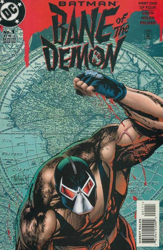 BATMAN BANE OF THE DEMON (1998) 1-4  complete series!