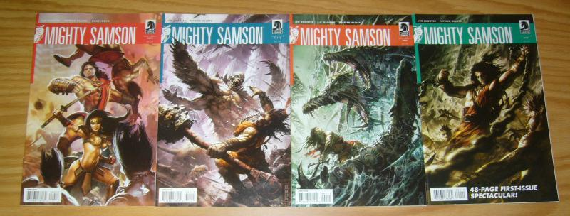 Mighty Samson #1-4 VF/NM complete series - jim shooter - dark horse comics 2 3