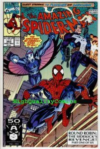 AMAZING SPIDER-MAN #353, NM+, Mark Bagley, Punisher, more ASM in store