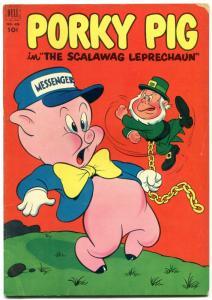 Porky Pig in The Scalawag Leprechaun- Four Color Comics #426 1952 VG