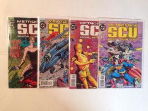 Metropolis SCU 1-4 Complete Near Mint Lot Set Run