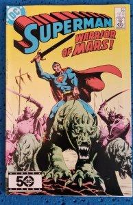 Superman #417 (1986) VF 8.0 Warrior of Mars!