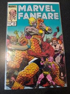 Marvel Fanfare#20  Dr.Strange, Wrap-around Cover!! NM