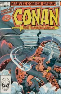 Conan the Barbarian Annual #7 VG; Marvel | low grade comic - save on shipping -