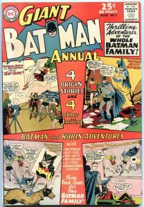 BATMAN ANNUAL #7 comic book 1964-80 PAGE GIANT-BATMAN FAMILY VF