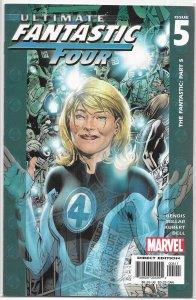 Ultimate Fantastic Four # 5 FN/VF Bendis/Millar/Adam Kubert, Mole Man