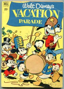 DELL GIANT WALT DISNEY VACATION PARADE #2 1951 MICKEY M G/VG