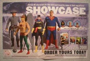 SHOWCASE PRESENTS Promo Poster,  17x11, 2008, Superman, Unused, more DC in store