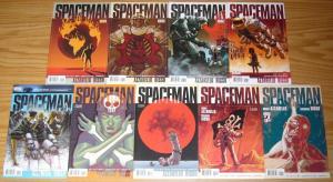 Spaceman #1-9 VF/NM complete series - brian azzarello - eduardo risso - vertigo