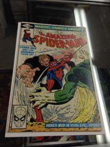 The Amazing Spider-Man 217 VF/NM (needs pressed) Sandman vs. Hydro-Man