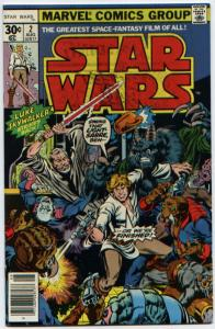 Star Wars #2 ORIGINAL 1977 Newstand edition NM+ except for ink rub!