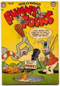Hollywood Funny Folks #50 1952- Nutsy Squirrel- VF