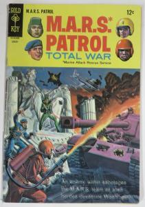 MARS PATROL (Gold Key,8/1968) 6 VERY GOOD (VG) COMICS BOOK
