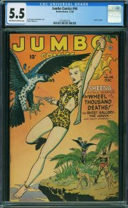 Jumbo Comics #94 (1946) CGC 5.5
