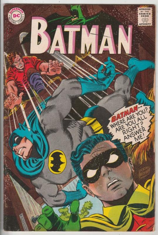 Batman #196 (Nov-67) FN Mid-Grade Batman