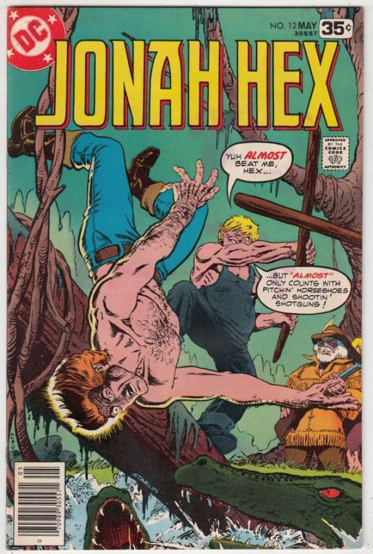 Jonah Hex #12 (Feb-78) NM/NM- High-Grade Jonah Hex