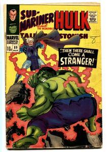 TALES TO ASTONISH #89 comic book-SUB-MARINER/HULK-MARVEL UK variant
