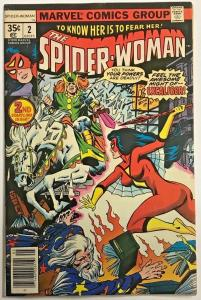 SPIDER-WOMAN#2 FN/VF 1978 MARVEL BRONZE AGE COMICS